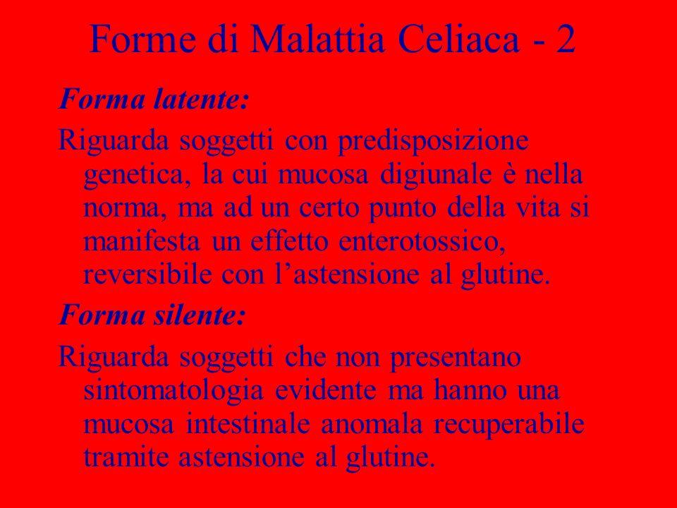 Forme di Malattia Celiaca - 2