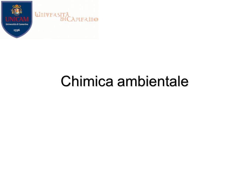 Chimica ambientale Rita Giovannetti
