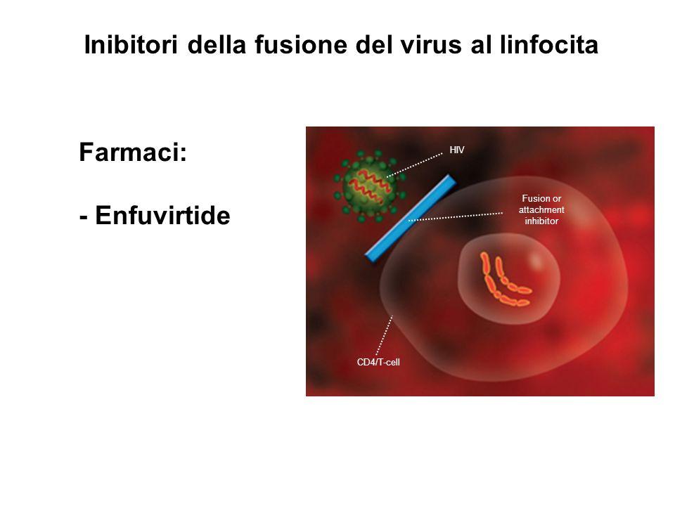Inibitori della fusione del virus al linfocita
