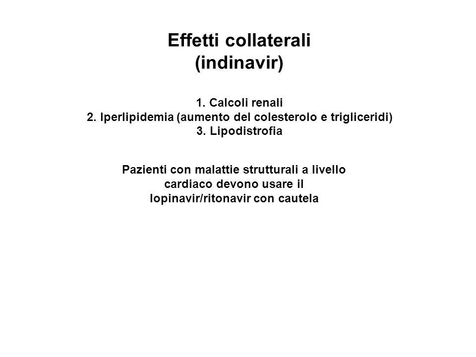 2. Iperlipidemia (aumento del colesterolo e trigliceridi)