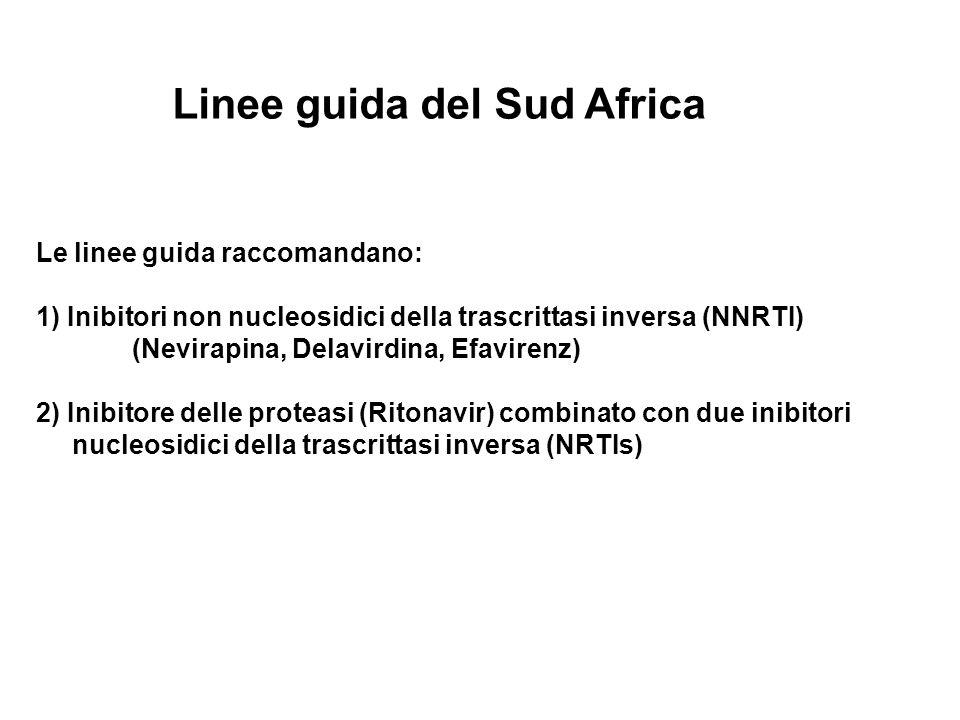 Linee guida del Sud Africa