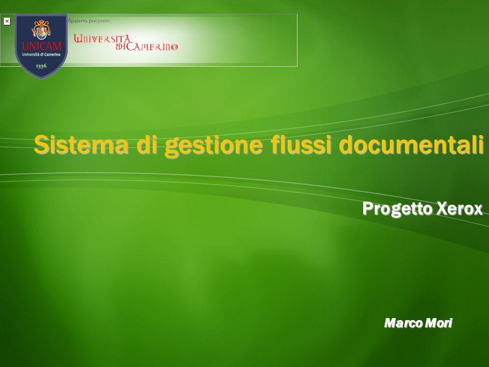 Sistema di gestione flussi documentali