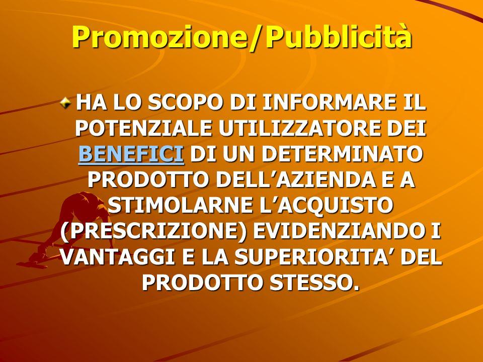 Promozione/Pubblicità