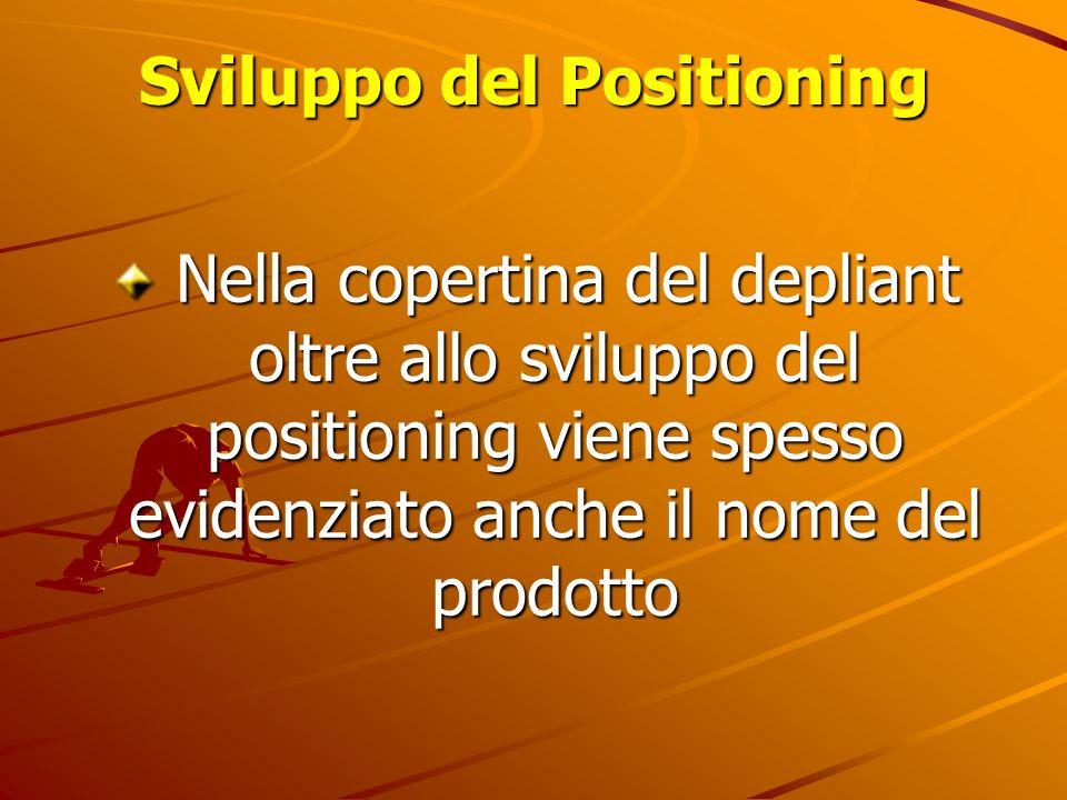 Sviluppo del Positioning