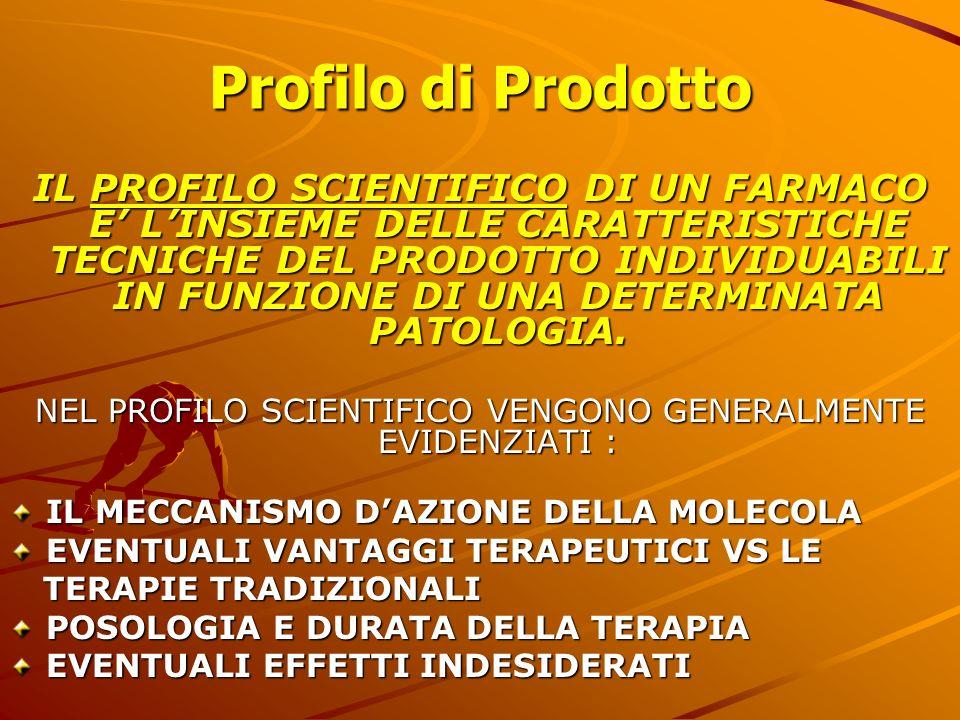 NEL PROFILO SCIENTIFICO VENGONO GENERALMENTE EVIDENZIATI :
