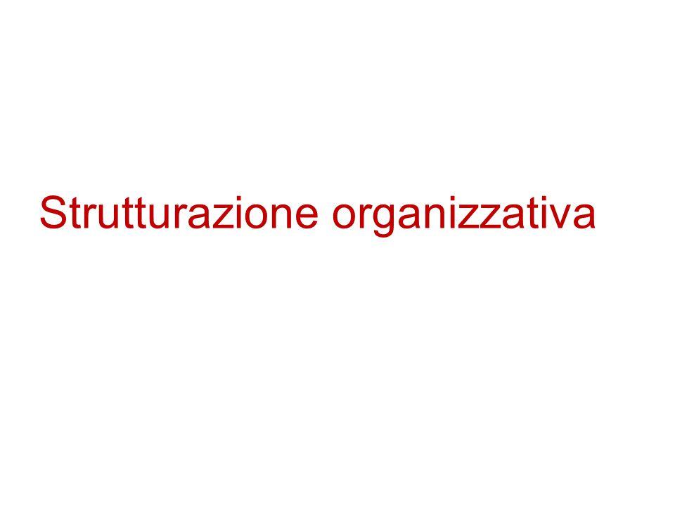 Strutturazione organizzativa