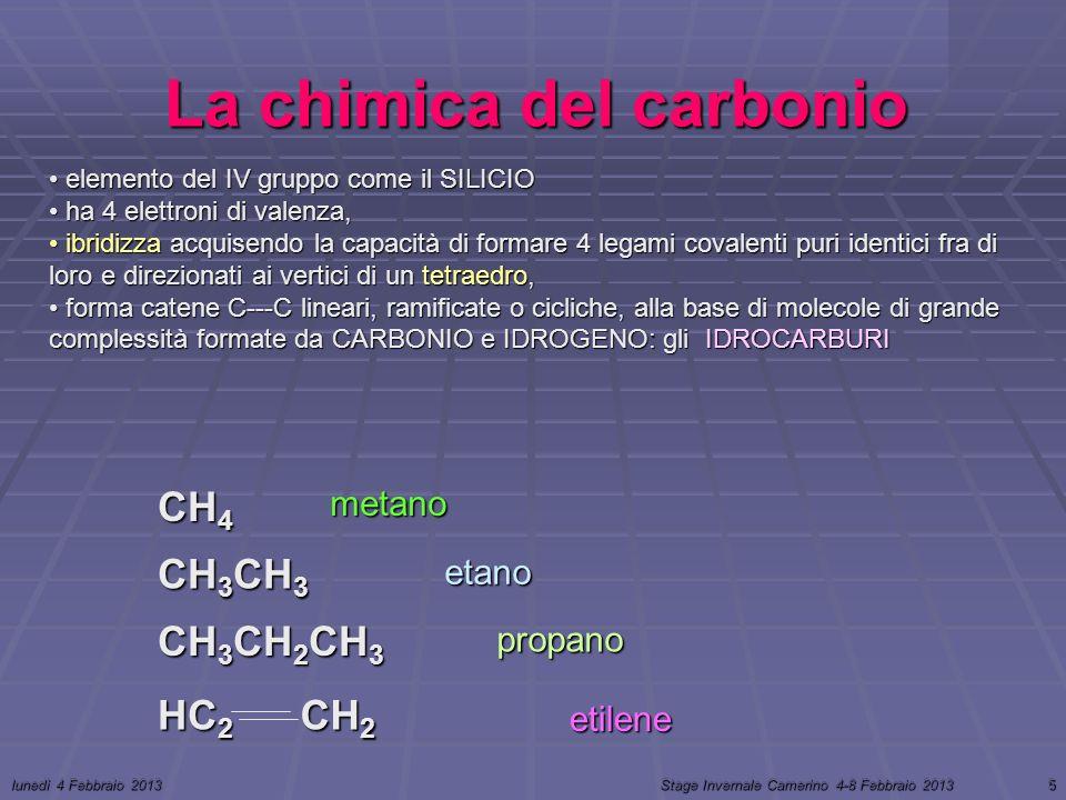 La chimica del carbonio