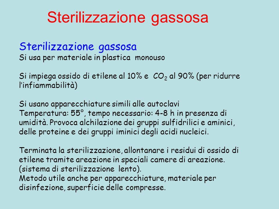 Sterilizzazione gassosa