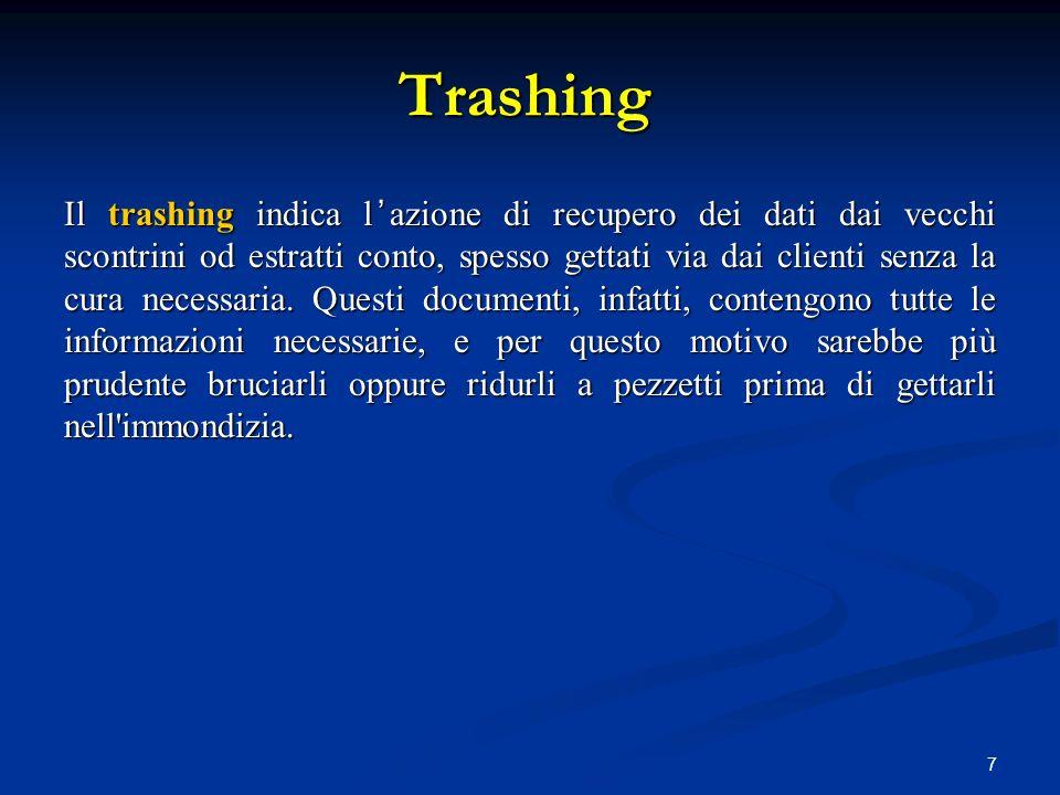 Trashing