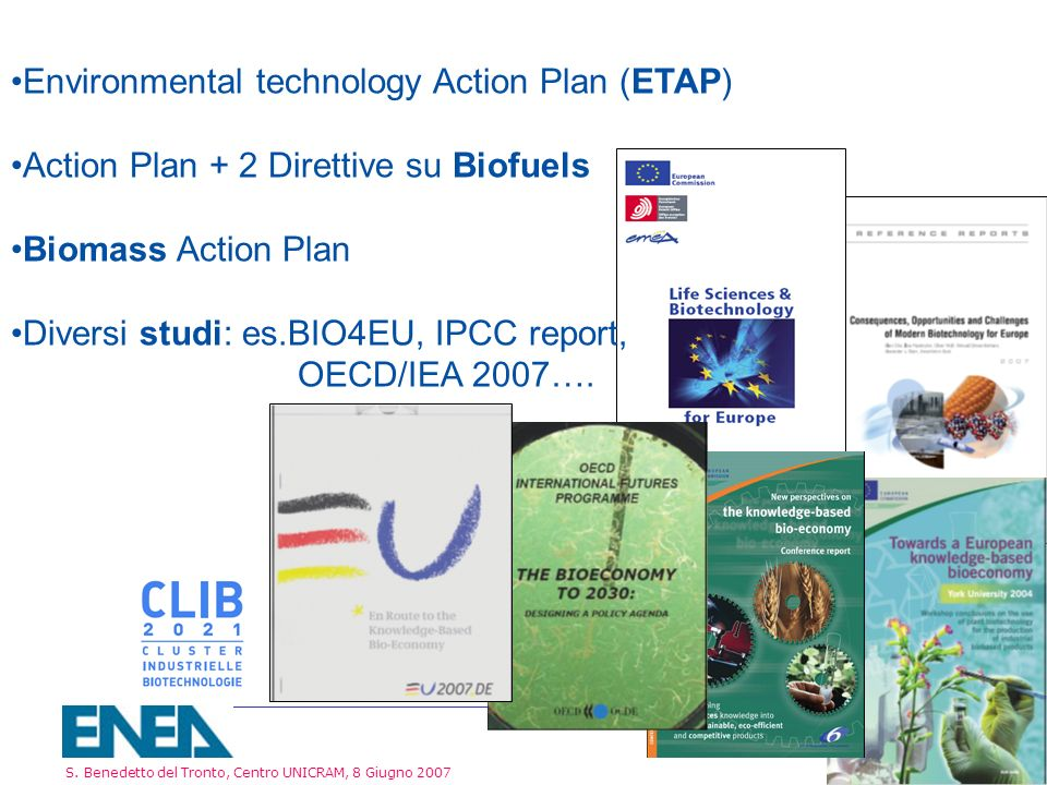 Environmental technology Action Plan (ETAP)