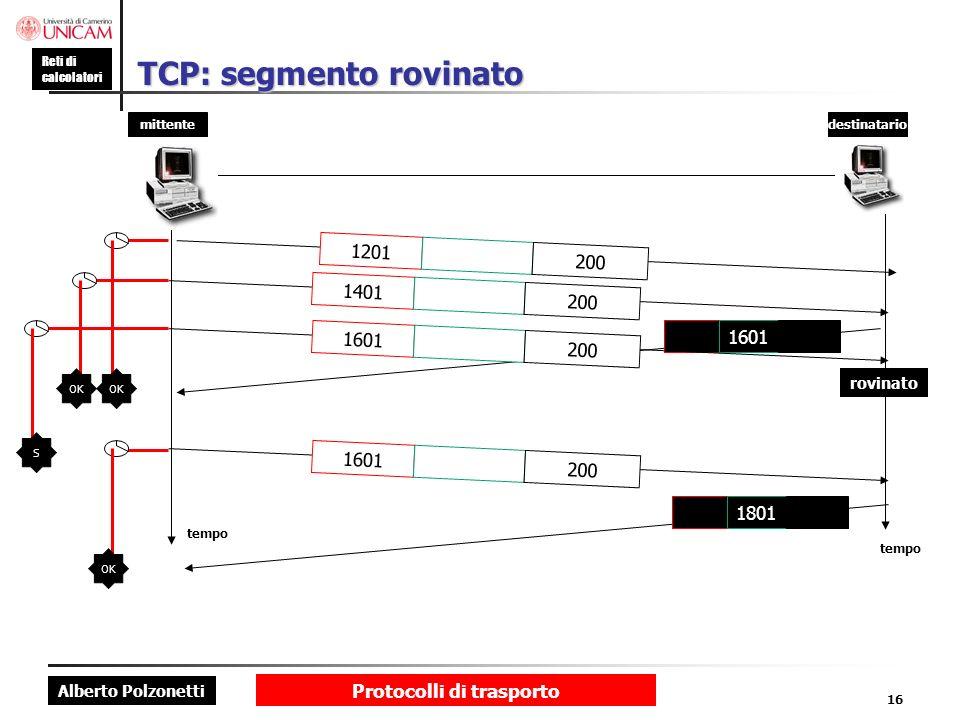TCP: segmento rovinato