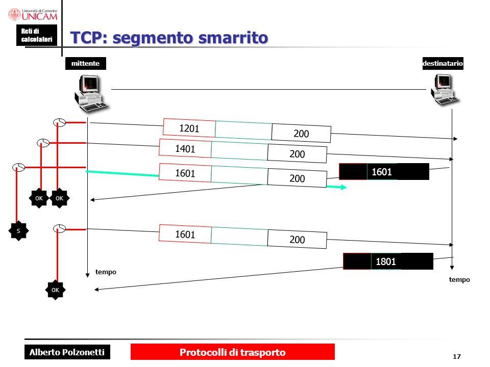 TCP: segmento smarrito