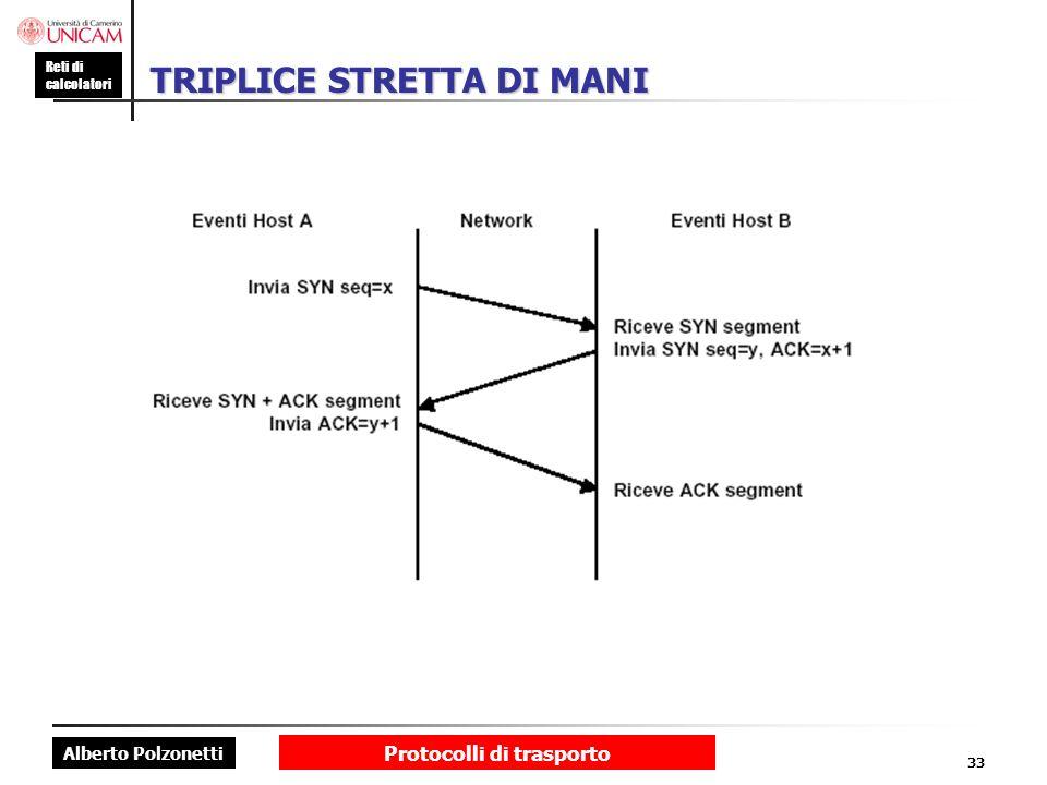 TRIPLICE STRETTA DI MANI