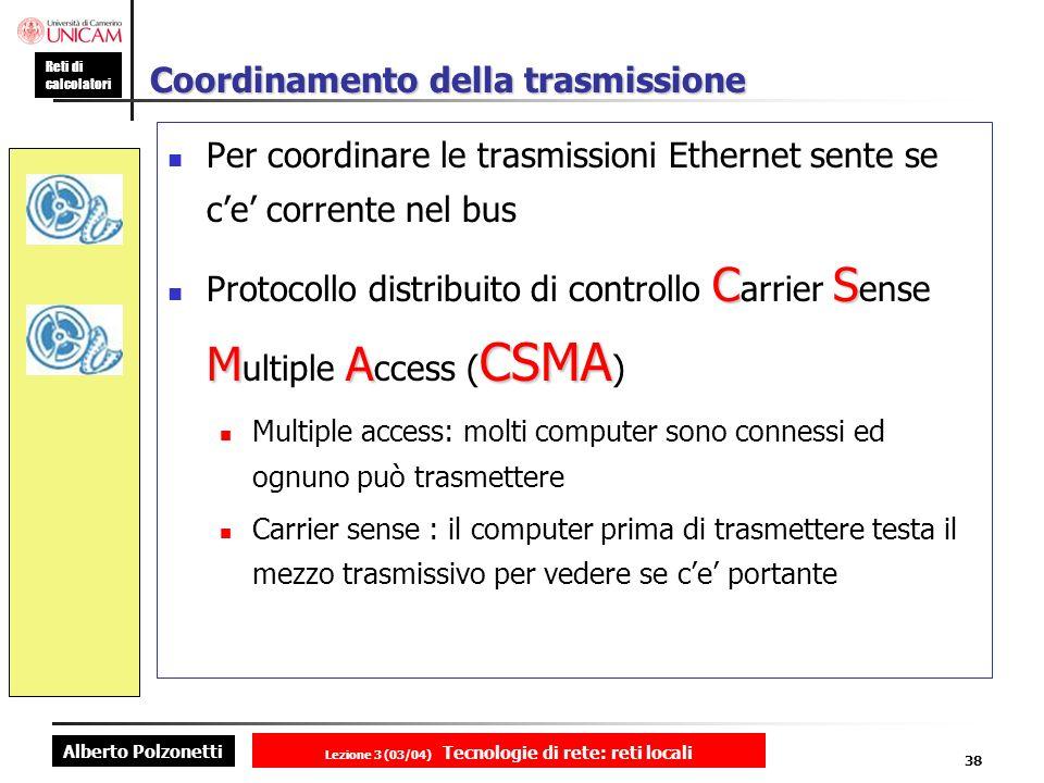 Coordinamento della trasmissione