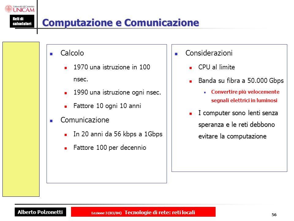 Computazione e Comunicazione