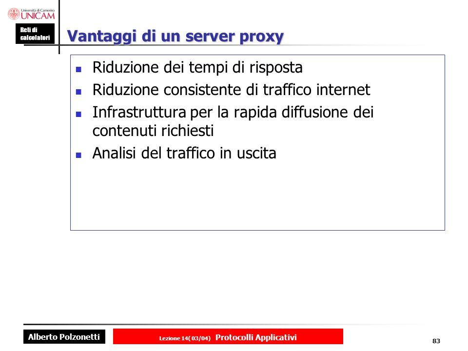 Vantaggi di un server proxy