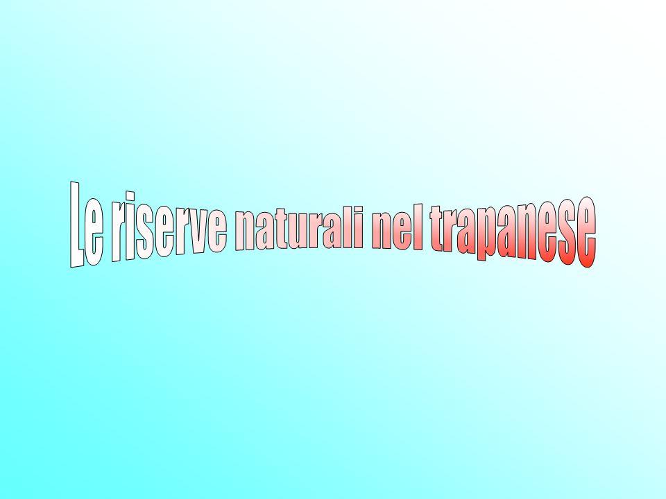 Le riserve naturali nel trapanese