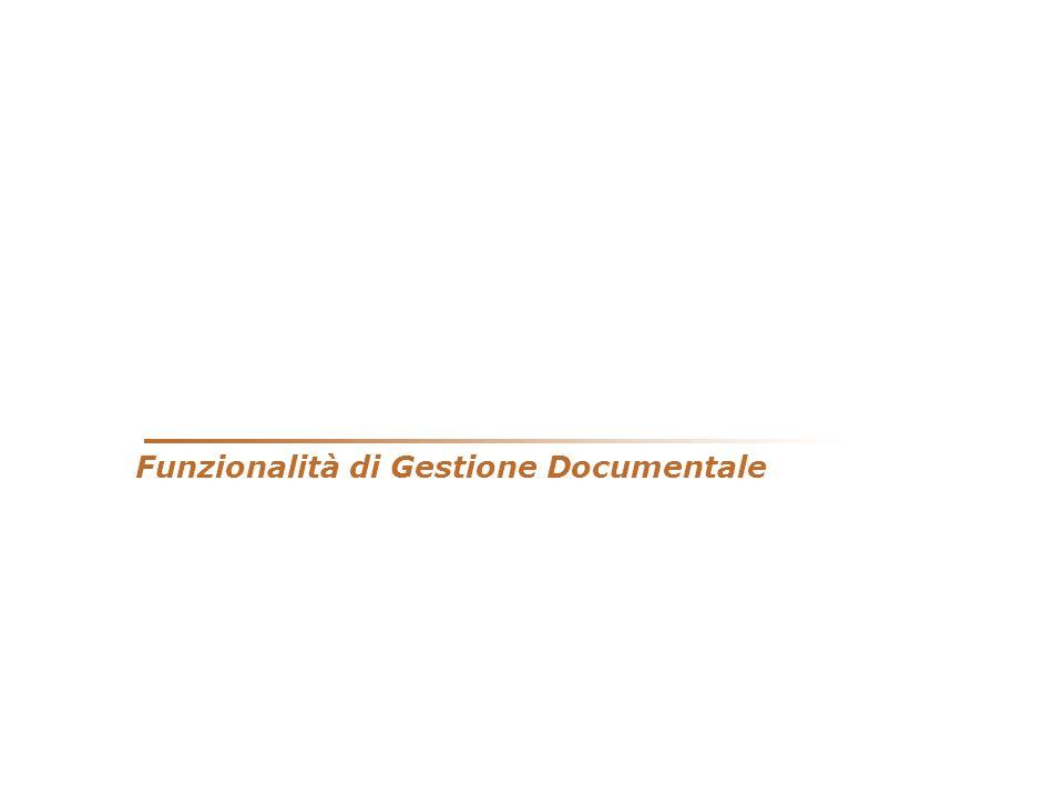 Funzionalità di Gestione Documentale