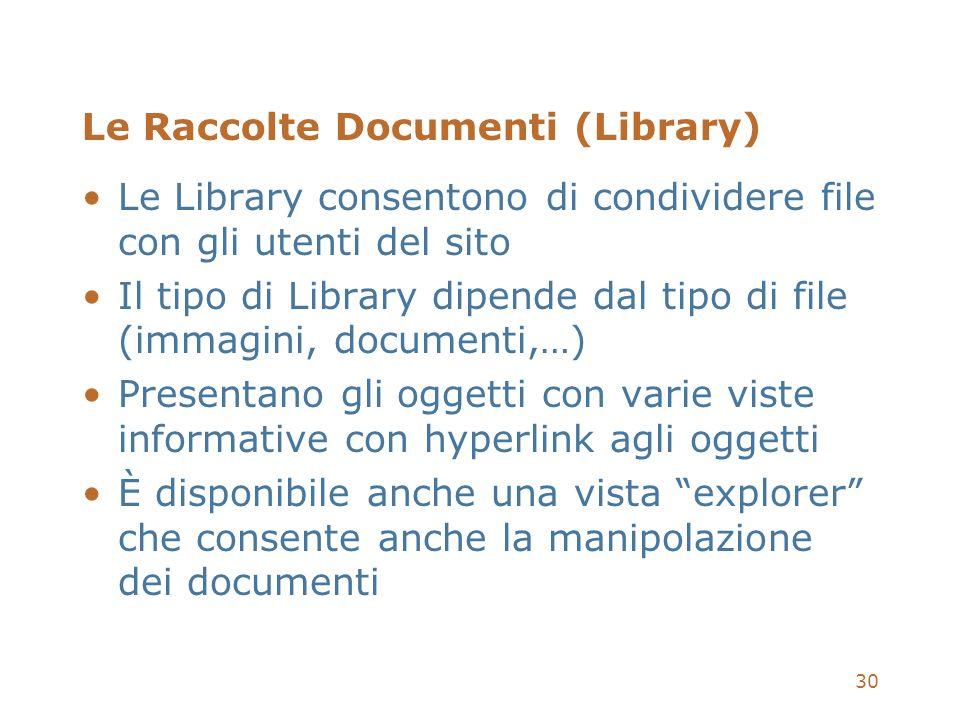 Le Raccolte Documenti (Library)
