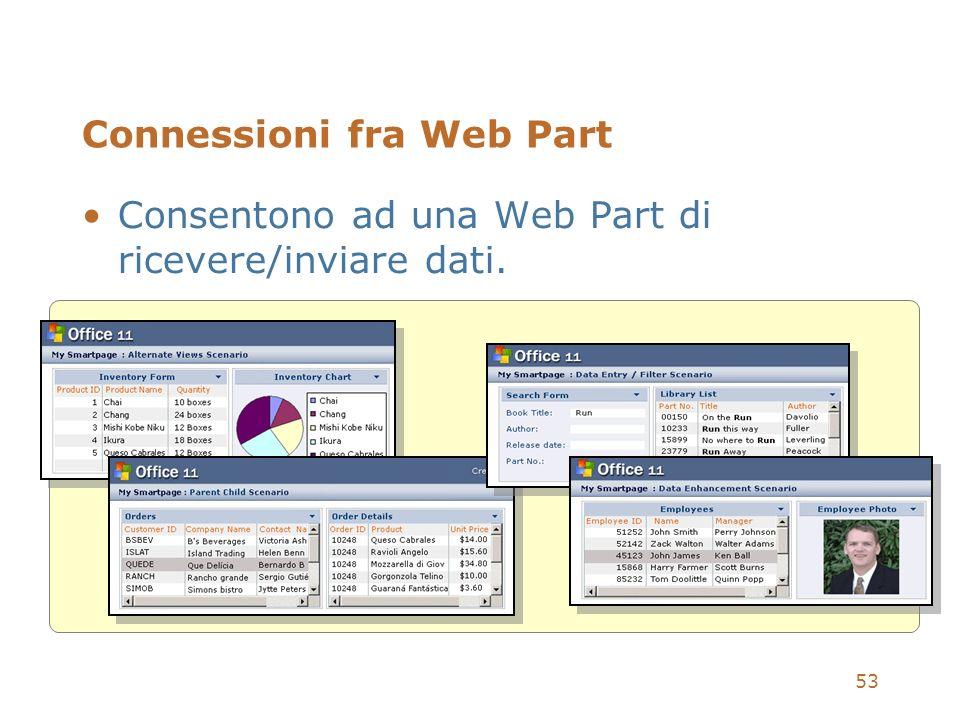 Connessioni fra Web Part