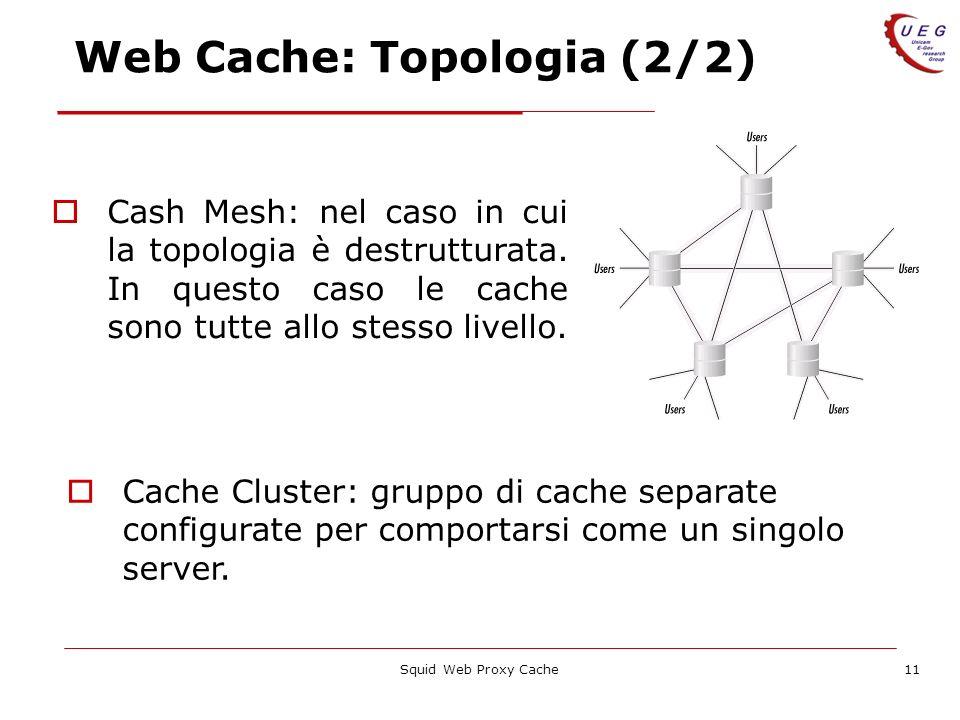 Web Cache: Topologia (2/2)