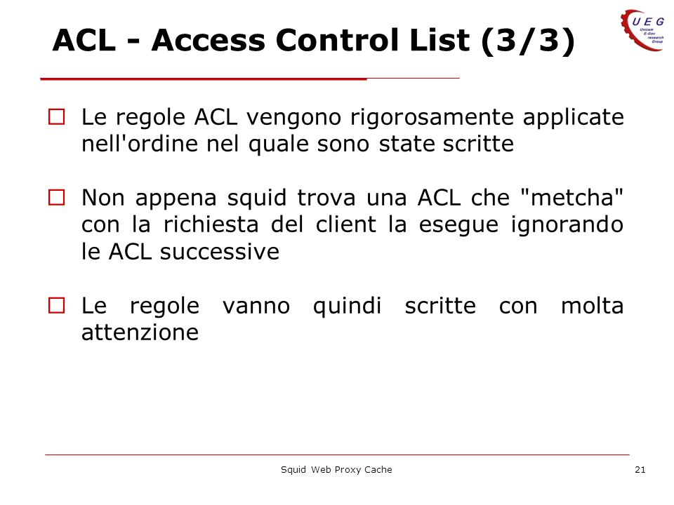 ACL - Access Control List (3/3)