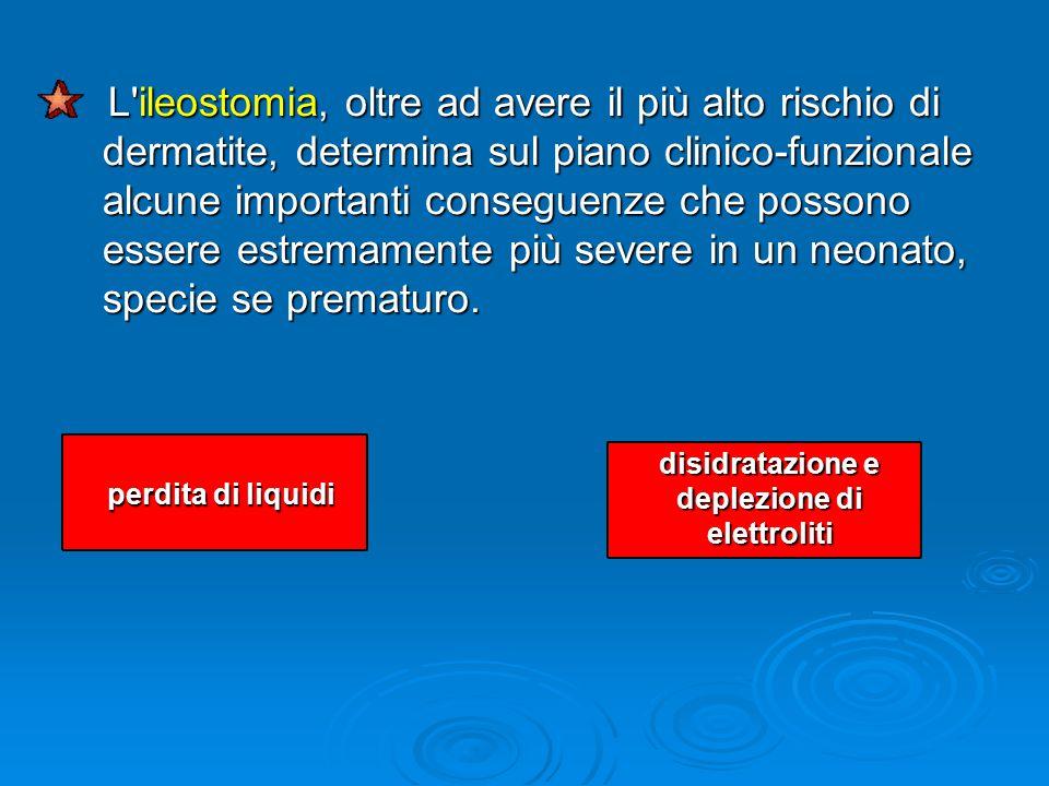 disidratazione e deplezione di elettroliti