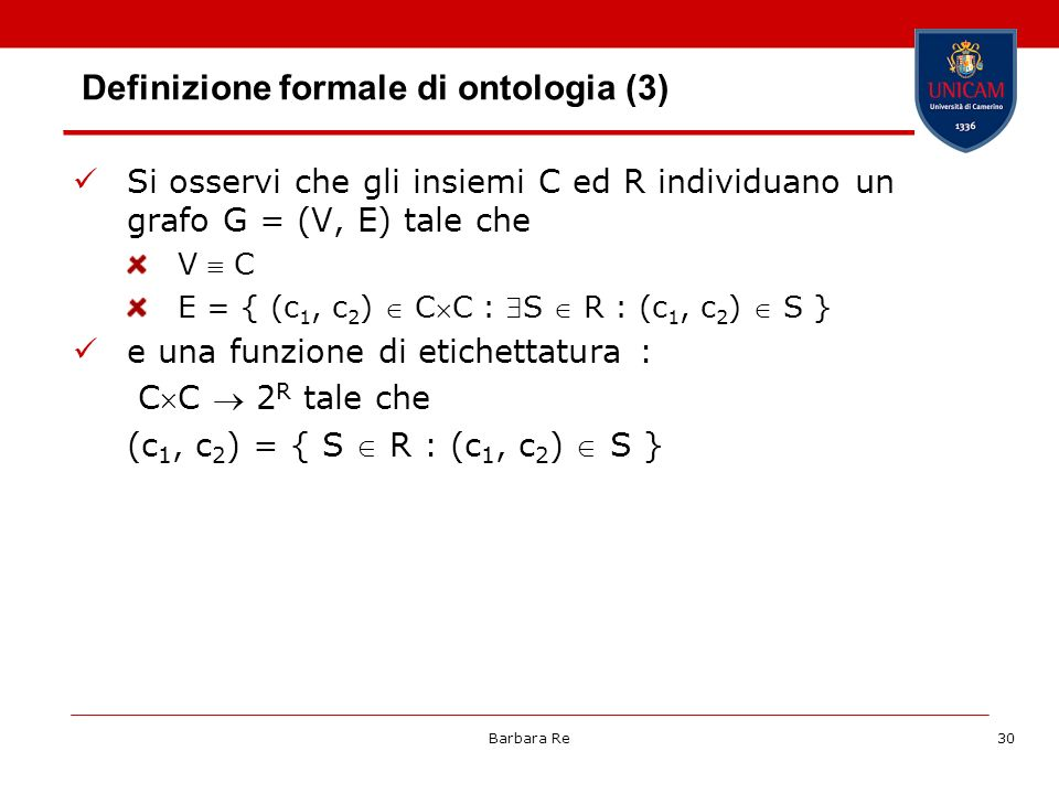 Definizione formale di ontologia (3)