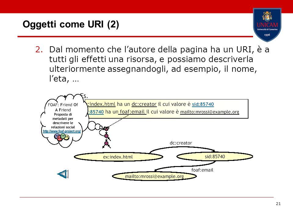 Oggetti come URI (2)