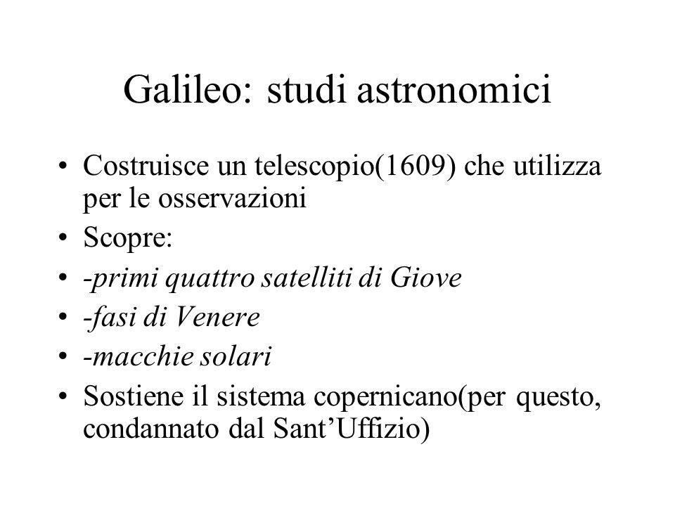 Galileo: studi astronomici