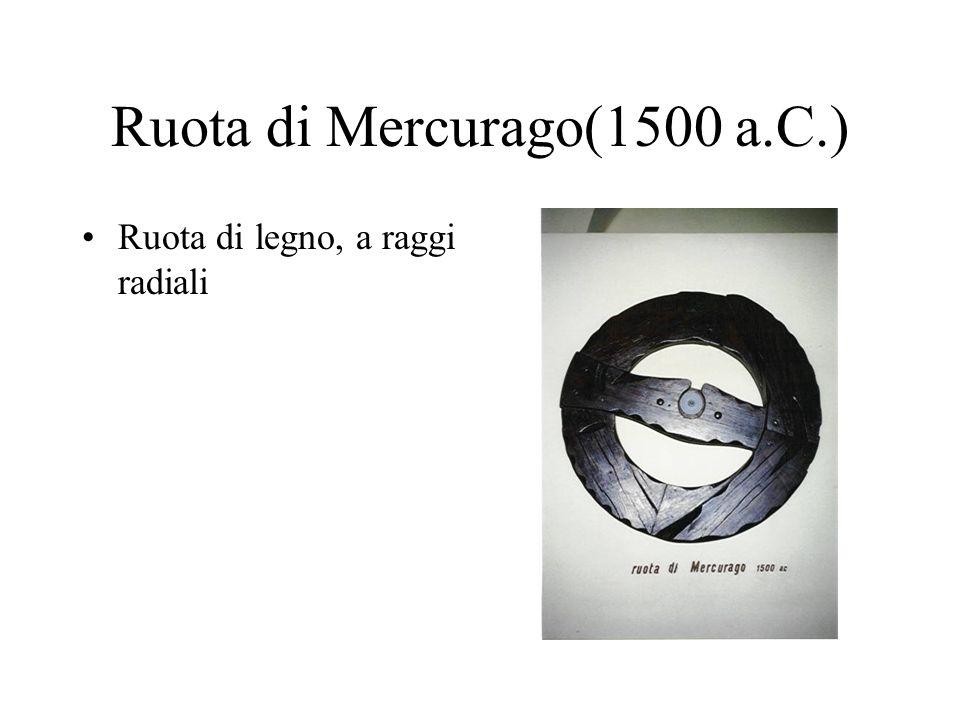 Ruota di Mercurago(1500 a.C.)