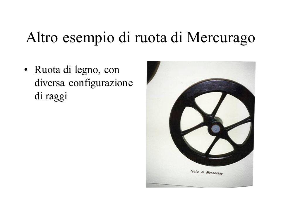 Altro esempio di ruota di Mercurago