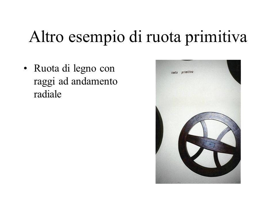 Altro esempio di ruota primitiva