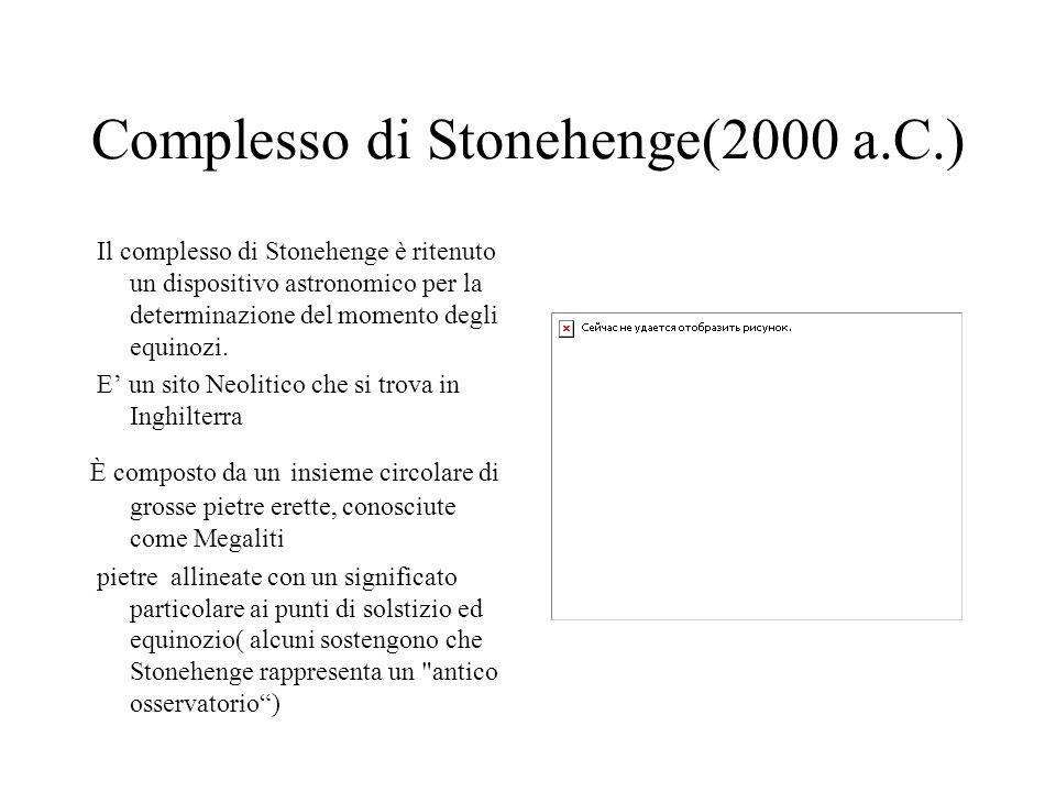 Complesso di Stonehenge(2000 a.C.)