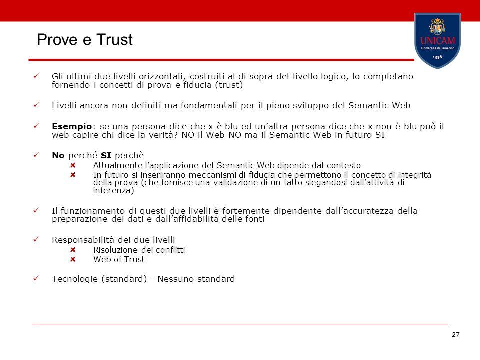 Prove e Trust