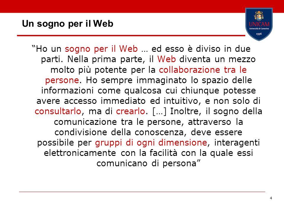 Un sogno per il Web
