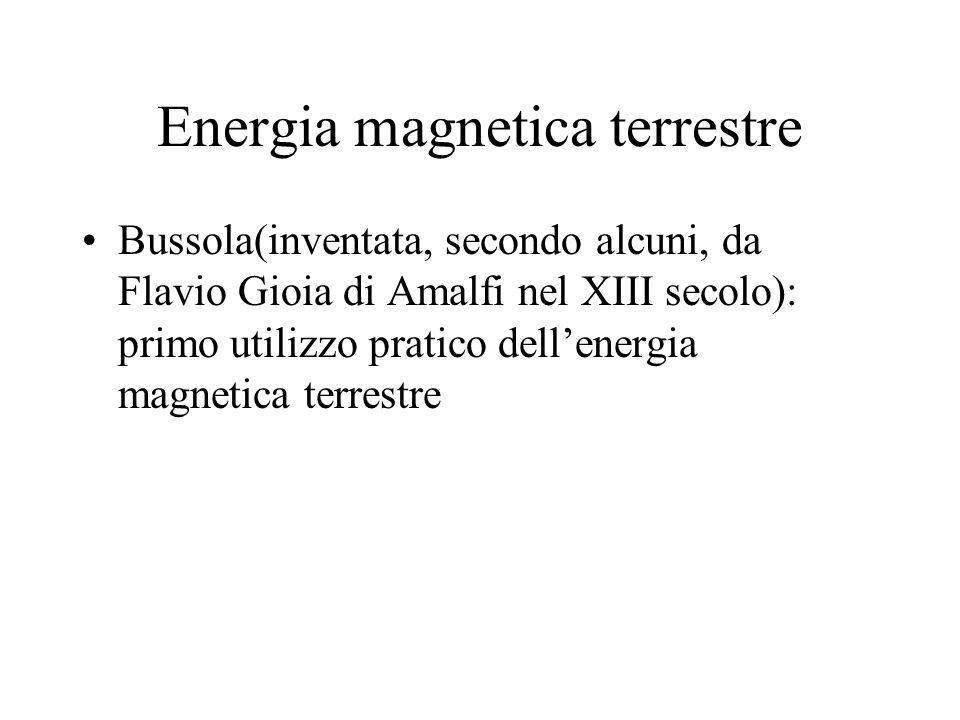 Energia magnetica terrestre