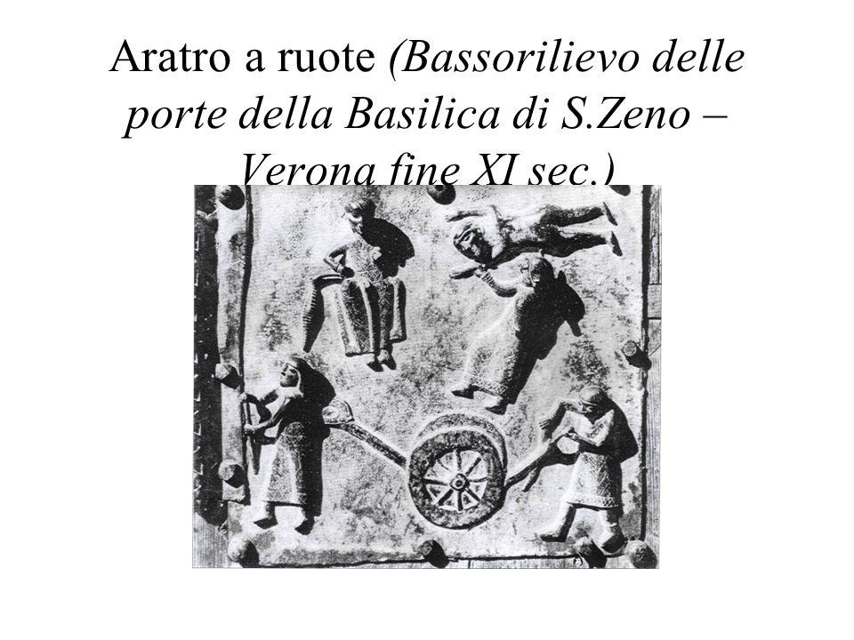 Aratro a ruote (Bassorilievo delle porte della Basilica di S
