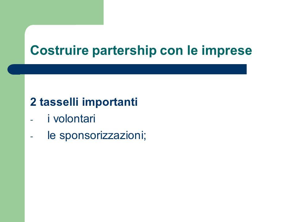 Costruire partership con le imprese
