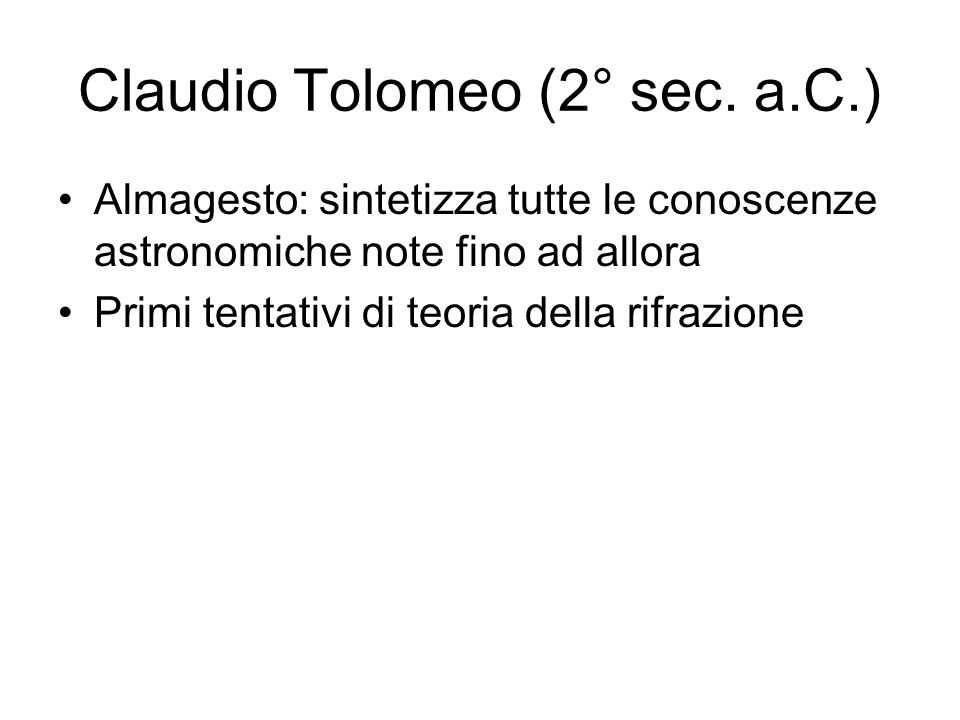 Claudio Tolomeo (2° sec. a.C.)