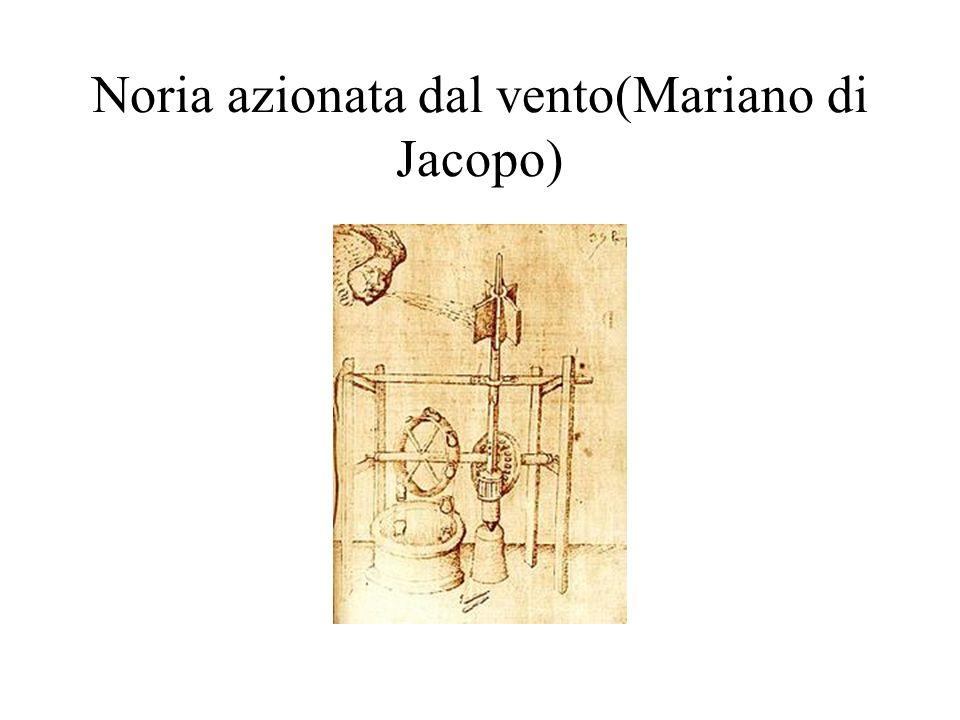 Noria azionata dal vento(Mariano di Jacopo)