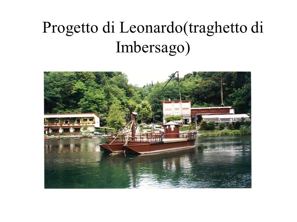 Progetto di Leonardo(traghetto di Imbersago)