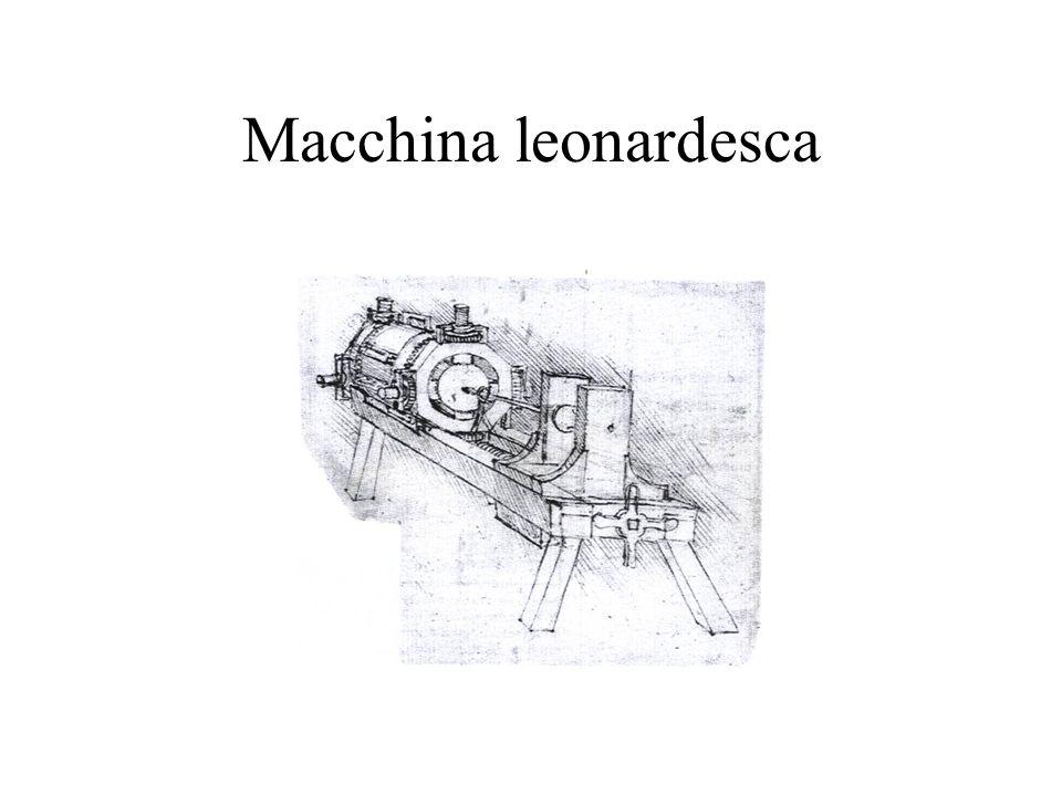 Macchina leonardesca