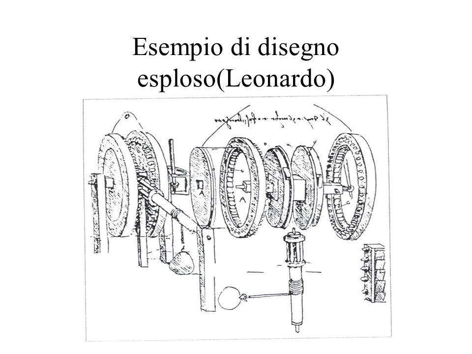 Esempio di disegno esploso(Leonardo)