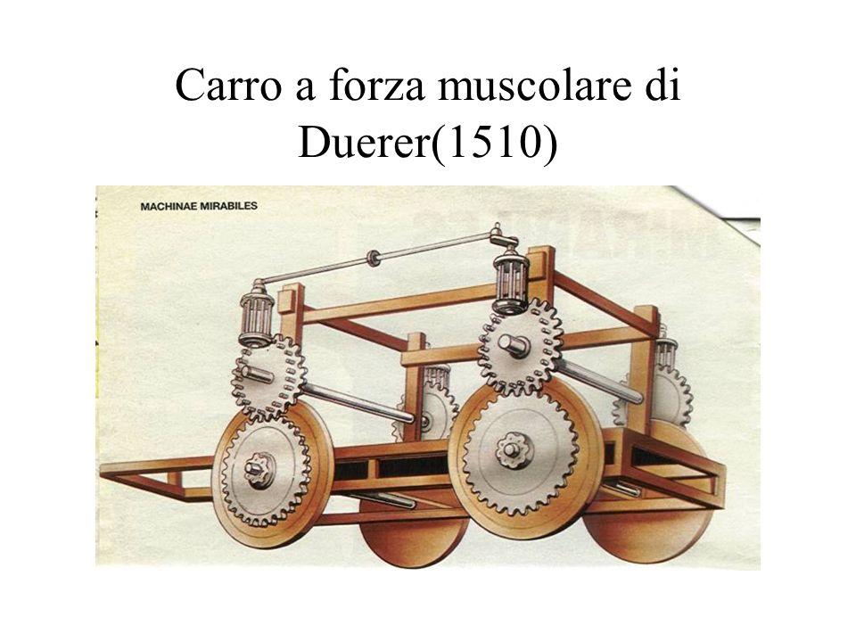 Carro a forza muscolare di Duerer(1510)