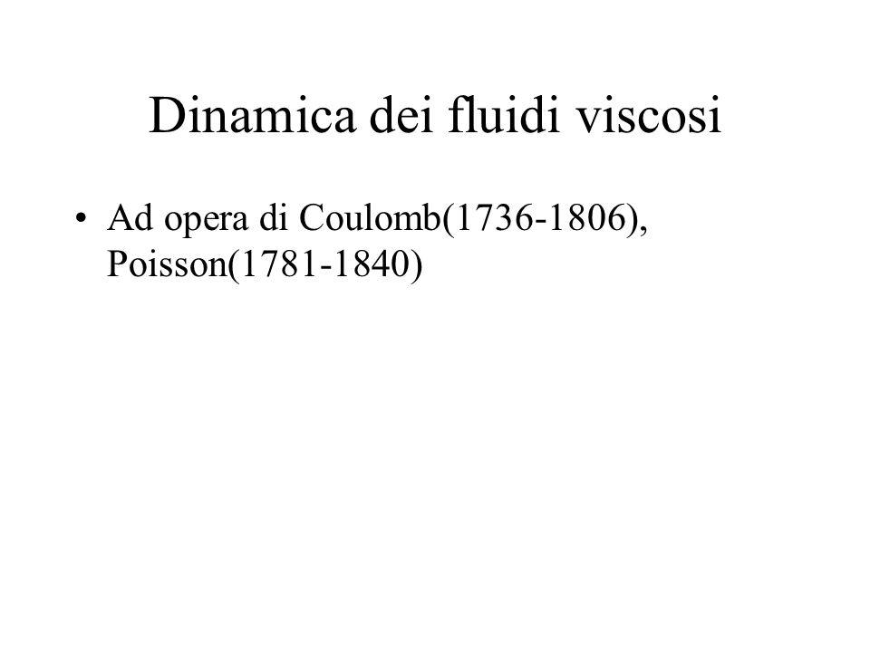 Dinamica dei fluidi viscosi