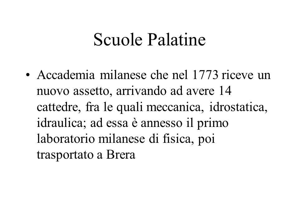 Scuole Palatine