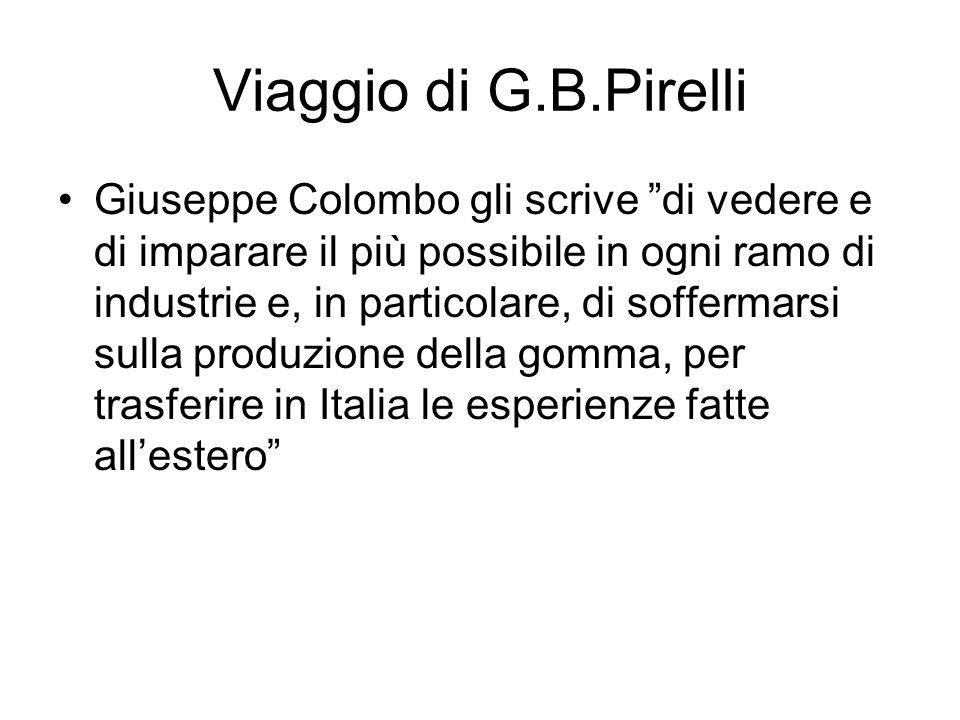 Viaggio di G.B.Pirelli