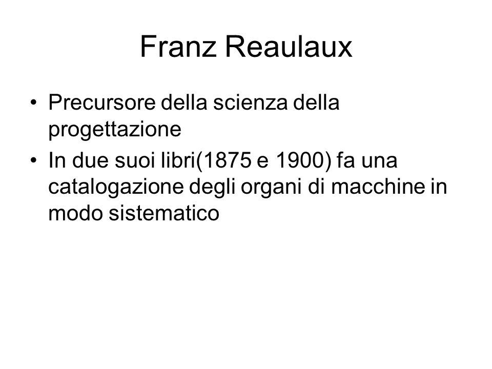 Franz Reaulaux Precursore della scienza della progettazione