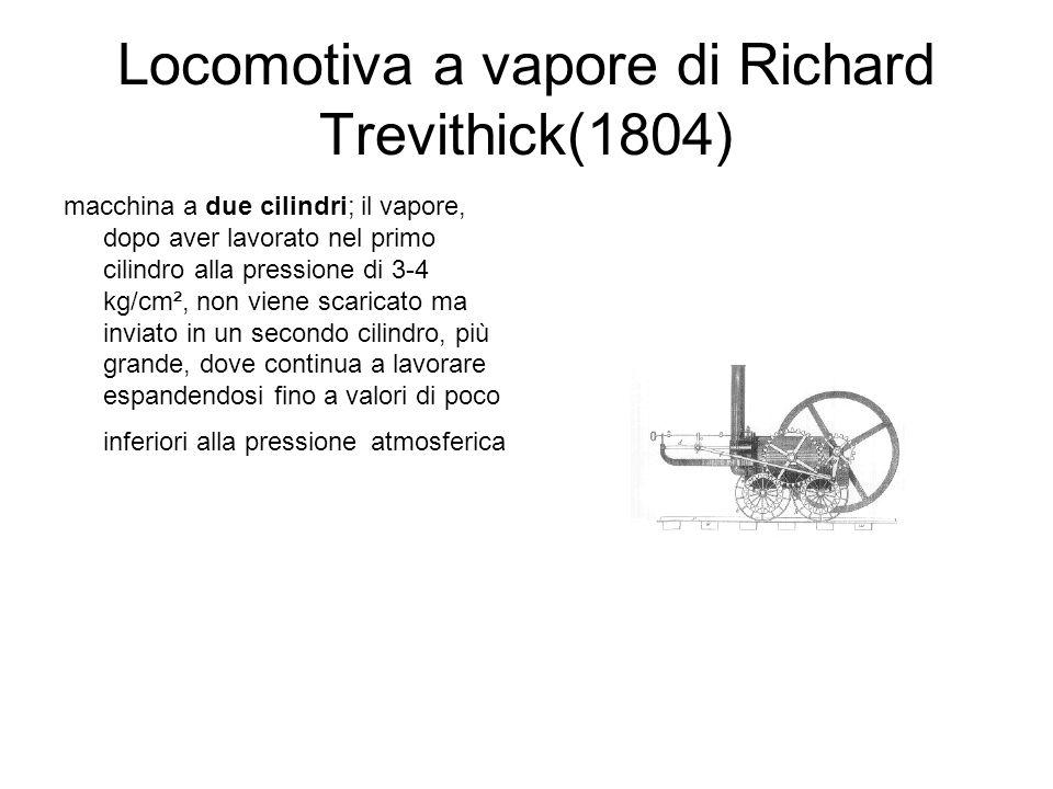 Locomotiva a vapore di Richard Trevithick(1804)